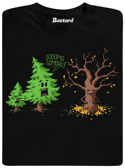 Sodoma Gomora - černé pánské tričko