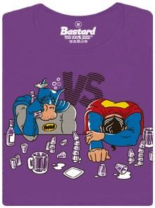 Souboj superhrdninů Batman a Superman - dámské tričko