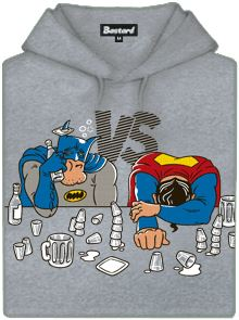 Mikina s potiskem Batman vs. Superman