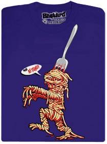 Špagetová mumie - modré