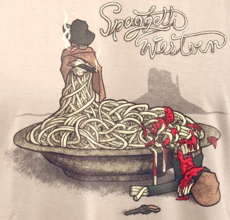 Spaghetti Western - špagetový šerif dostal špagetového zločince