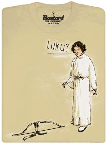 Princezna Leia si jde vystřelit z Luka - pánské tričko
