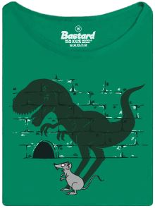 Myš a její stín jako Tyranosaurus Rex