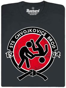 STS Chvojkovice-Brod - šedé pánské tričko