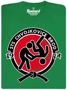 STS Chvojkovice-Brod - zelene pánské tričko
