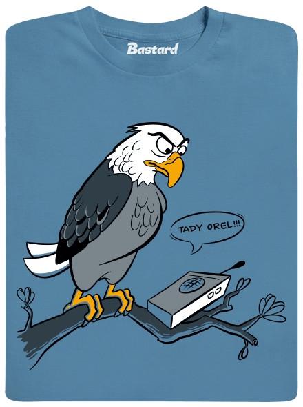 Tady orel, přepínám! - modré pánské tričko
