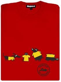 Na zvířatech už testují i trička, ale bez týrání