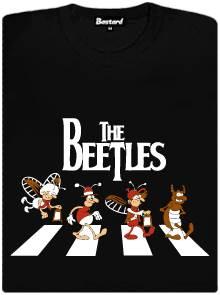 The Beetles - brouci na přechodu - dámské tričko