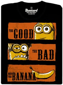 The good, the bad and the banana - pánské tričko