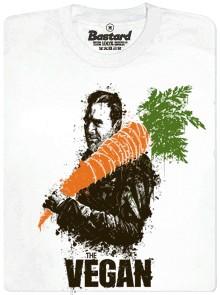 The vegan - bílé pánské tričko