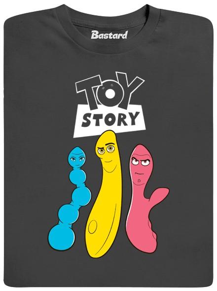 Příběh sexuálních hraček - šedé pánské tričko
