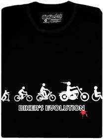 Bikers evolution - motorkářská evoluce