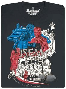 Jsem Čech - šedé pánské tričko
