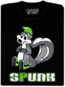 Spunk je skunk, který poslouchá punk