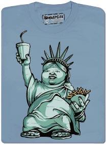 Tlustá socha svobody - Americký idol