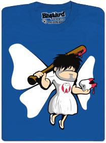 Víla zuběnka a její baseballová pálka v akci
