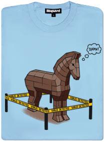 Trojský kůň chycen při činu
