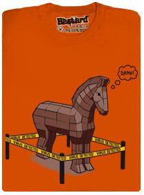 Trojský kůň - virus detekován