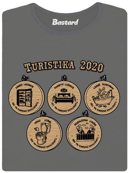 Výlety v roce 2020 - zelené dámské tričko