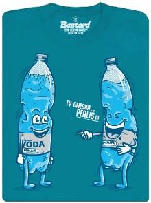 Ty dneska perlíš!!! - modré pánské tričko