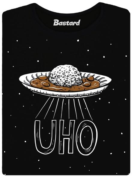 UHO nebo UFO - černé dámské tričko