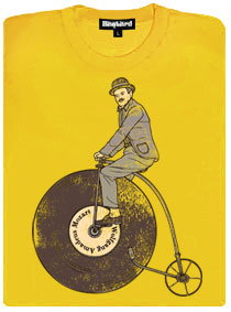 Gramodeska jako bicykl