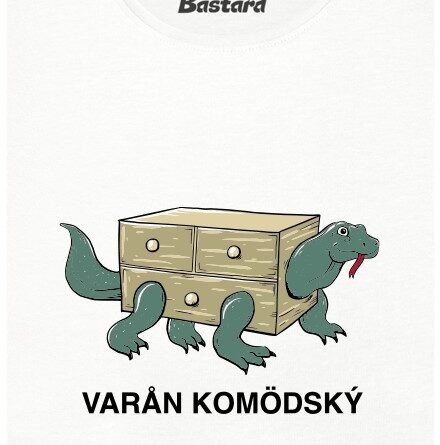 Varån Komödský z IKEA - bílé dámské tričko
