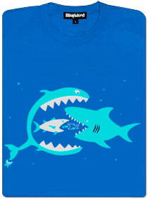Větší ryby žerou menší ryby