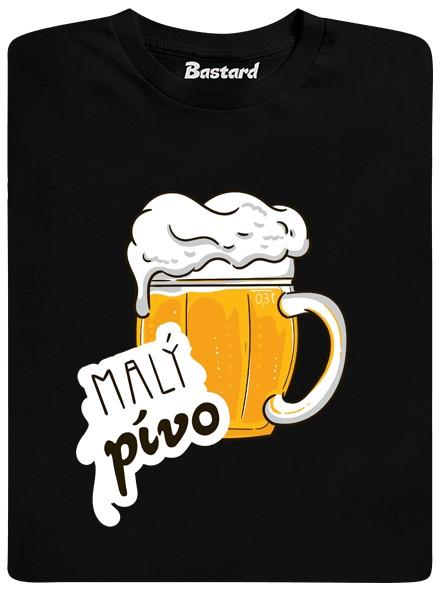 Velký pívo - černé dětské tričko