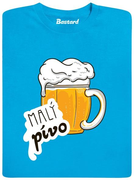 Malý pívo - modré dětské tričko