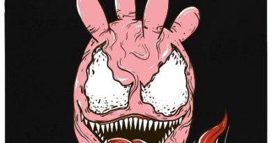Vemenom = vemeno Venom - černé pánské tričko