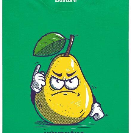 Výhruška - výhružka - zelené pánské tričko