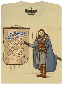 Winter is coming - Hra o trůny - pánské tričko