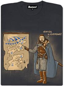 Hra o trůny - Game of thrones - šedé dámské tričko