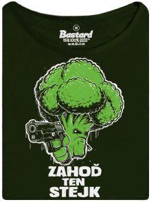 Naštvaná brokolice bojuje za práva zeleniny proti steakům