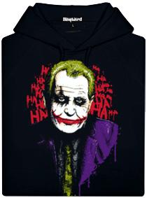 Zeman Joker - černá pánská mikina
