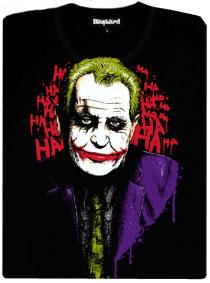 Zeman Joker - černé dámské tričko s potiskem