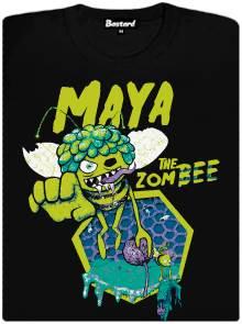 Zombee Maya - černé pánské tričko s potiskem